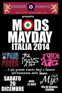 20 Dicembre 2014 - Myo Club, Genova