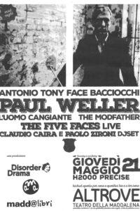 21 Maggio 2015 - Teatro Altrove, Genova. Set acustico.