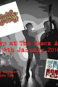 15 Gennaio 2016 - The Essex Arms, Brentwood, UK.