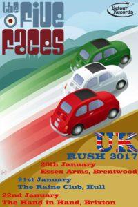 20/22 Gennaio 2017 - UK Rush 2017