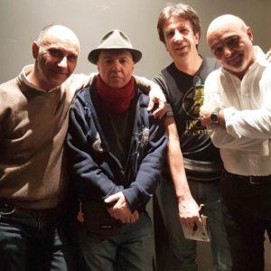 3/4 del gruppo con Alberto Camerini (influenzato)