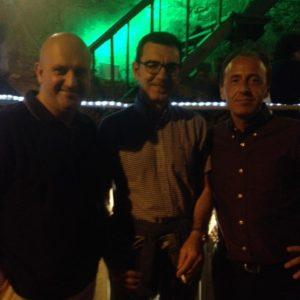 I tre batteristi dei 38 anni di attività... Gigi Barberis (1980/1984), Pier Luigi Merello (1984), Pietro Canepa (dal 2014)