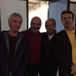 Tentativo di inserire Paul Weller in formazione...